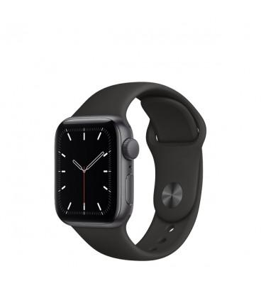 ساعت هوشمند اپل واچ سری SE مدل Space Gray Aluminum Case With Black Sport Band 40mm