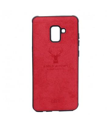 کاور محافظ طرح گوزن مدل Deer Case مناسب برای گوشی سامسونگ Galaxy A8 Plus