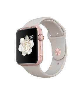 ساعت هوشمند اپل واچ مدل 38mm Rose Gold Aluminum Case with Lavender Sport Band