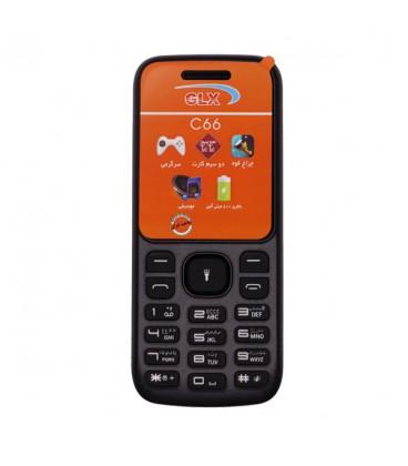 گوشی موبایل جی ال ایکس مدل C66 دو سیم کارت