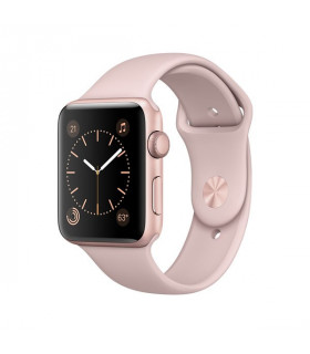 ساعت هوشمند اپل واچ سري 2 مدل 38mm Rose Gold Aluminum Case with Pink Sand Sport Band