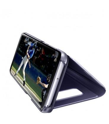کيف کلاسوري سامسونگ مدل Clear View Standing مناسب براي گوشي موبايل Galaxy S8