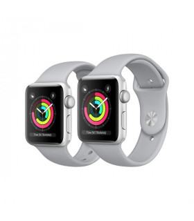 ساعت هوشمند اپل واچ 3 مدل 42mm Silver Aluminium Case with Fog Sport Band
