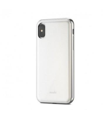 کاور موشی مدل iGlaze pear white مناسب برای گوشی آیفون ایکس