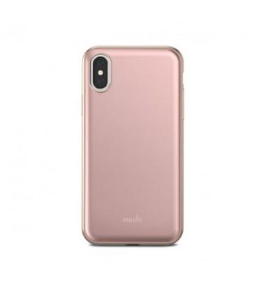 کاور موشی مدل iGlaze taupe pink مناسب برای آیفون ایکس