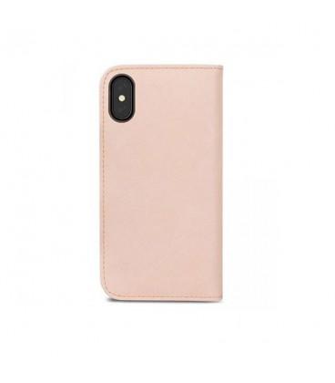 کیف کلاسوری موشی مدل overture luna pink مناسب برای گوشی iphone x