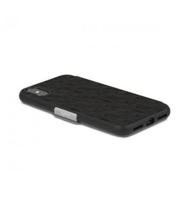 کیف کلاسوری موشی مدل sensecover metro black مناسب گوشی iphone x