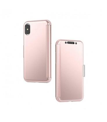کاور موشی مدل sensecover champagne pink مناسب گوشی iphone x