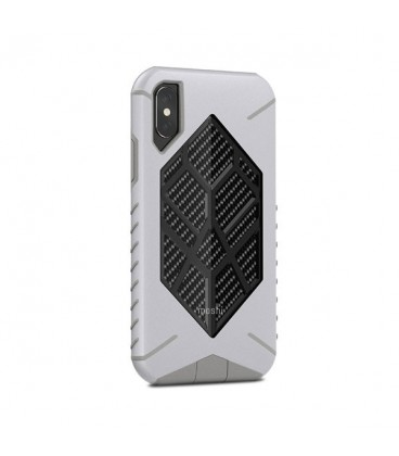 کاور موشی مدل talos admiral gray مناسب گوشی iphone x