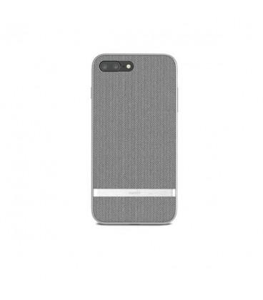 کاور موشی مدل Vesta herringbone gray مناسب گوشیIphone 8 plus 7plus