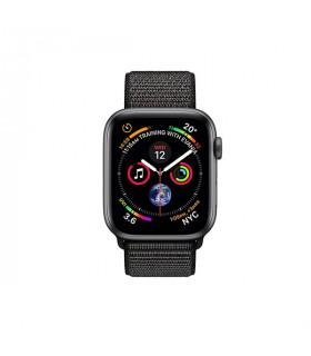 ساعت هوشمند اپل واچ سری 4 مدل Space Grey Aluminium Case with Black Sport Loop