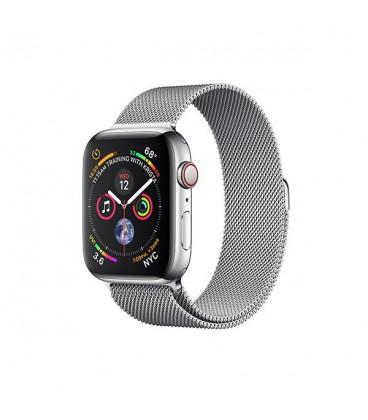 ساعت هوشمند اپل واچ سری 4 مدل Stainless Steel Case with Milanese Loop
