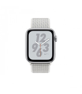 ساعت هوشمند اپل واچ سری 4 مدل Silver Aluminum Case with Summit White Nike Sport Loop