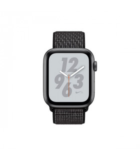 ساعت هوشمند اپل واچ سری 4 مدل Space Gray Aluminum Case with Black Nike Sport Loop