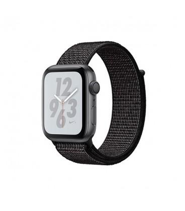 ساعت هوشمند اپل واچ سری 4 مدل Space Gray Aluminum Case with Black Nike Sport Loop