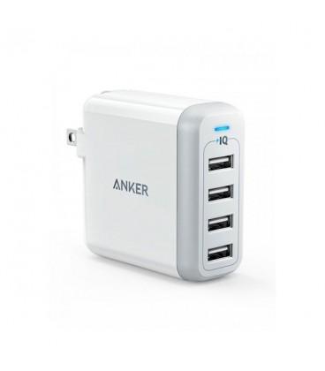 آداپتور شارژر انکر مدل Anker PowerPort 4 Lite