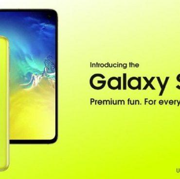 انتشار تصویری دیگر از Galaxy S10e