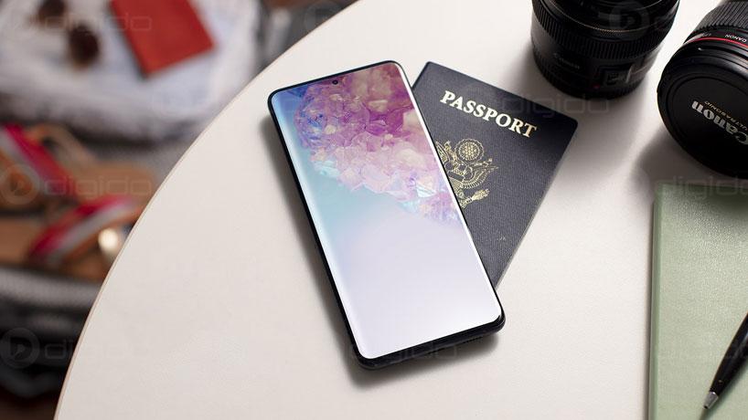 صفحه نمایش گوشی S20 پلاس