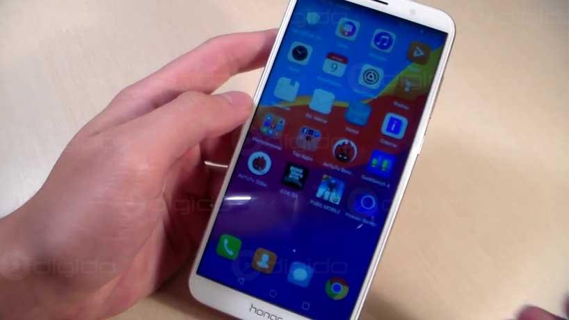 صفحه نمایش گوشی آنر 7a pro