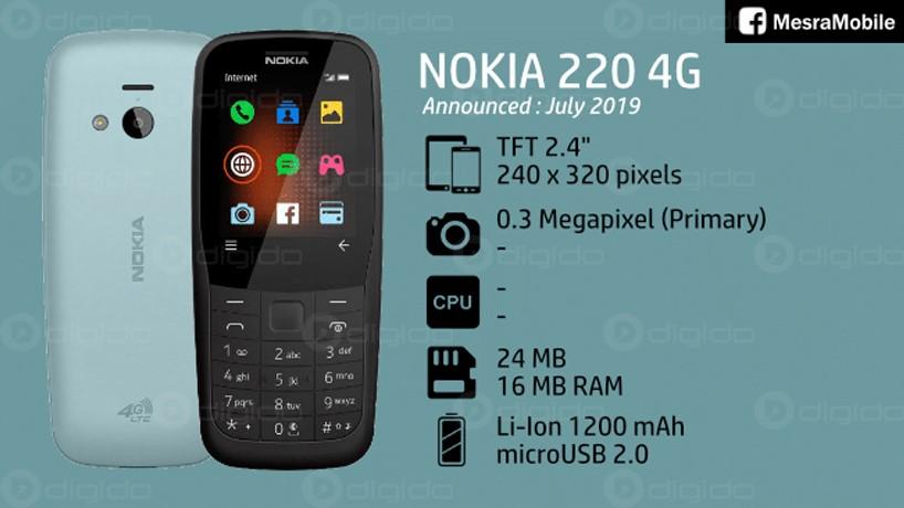 نوکیا 220