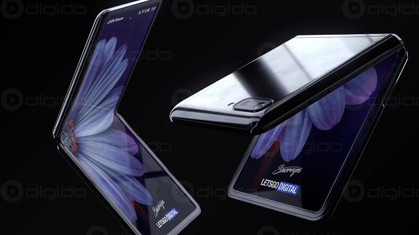 صفحه نمایش گوشی Z فلیپ